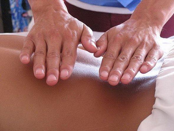Массаж лечение руками